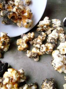 caramel oreo butter popcorn 2
